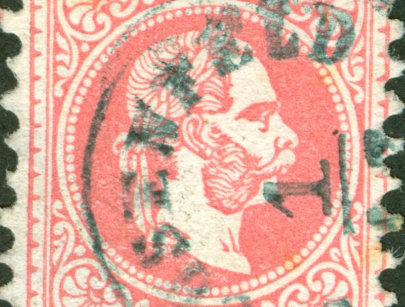 Freimarken-Ausgabe 1867 : Kopfbildnis Kaiser Franz Joseph I - Seite 8 1867_521
