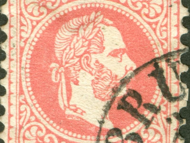Freimarken-Ausgabe 1867 : Kopfbildnis Kaiser Franz Joseph I - Seite 8 1867_523