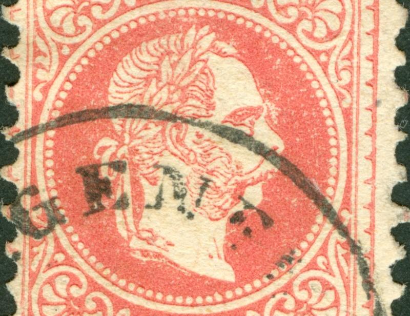 Freimarken-Ausgabe 1867 : Kopfbildnis Kaiser Franz Joseph I - Seite 8 1867_524