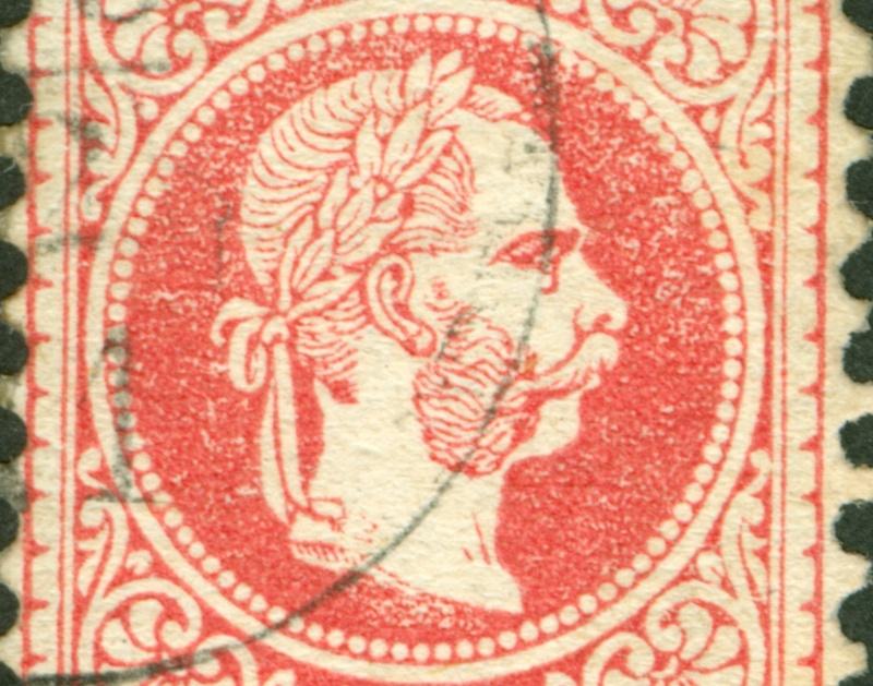 Freimarken-Ausgabe 1867 : Kopfbildnis Kaiser Franz Joseph I - Seite 8 1867_525
