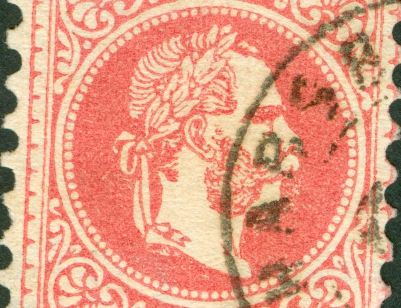 Freimarken-Ausgabe 1867 : Kopfbildnis Kaiser Franz Joseph I - Seite 8 1867_526