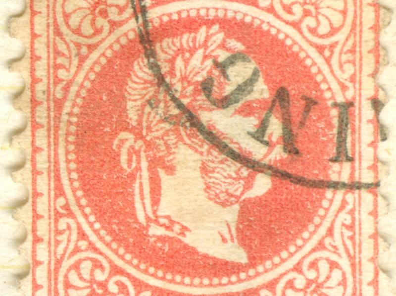 Freimarken-Ausgabe 1867 : Kopfbildnis Kaiser Franz Joseph I - Seite 8 1867_527