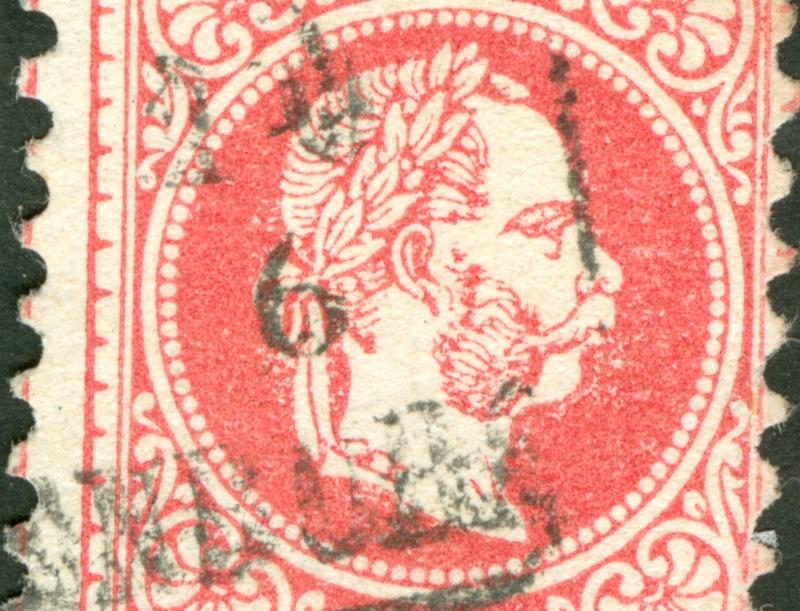 Freimarken-Ausgabe 1867 : Kopfbildnis Kaiser Franz Joseph I - Seite 8 1867_532
