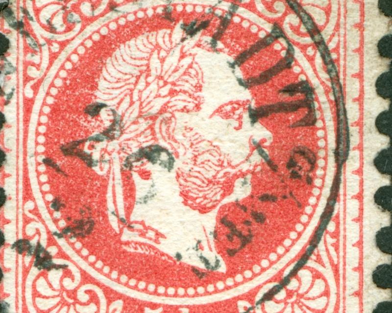 Freimarken-Ausgabe 1867 : Kopfbildnis Kaiser Franz Joseph I - Seite 8 1867_533