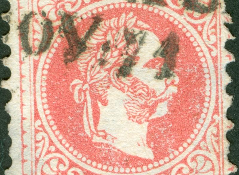 Freimarken-Ausgabe 1867 : Kopfbildnis Kaiser Franz Joseph I - Seite 8 1867_534