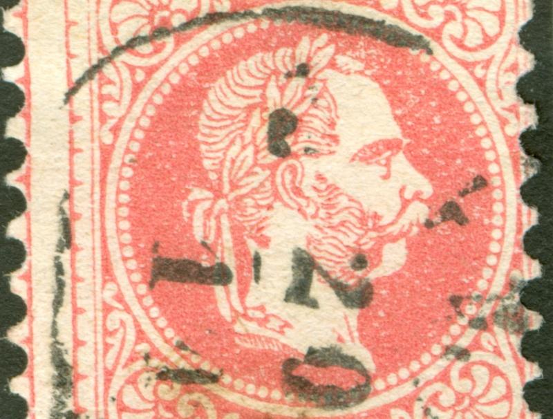 Freimarken-Ausgabe 1867 : Kopfbildnis Kaiser Franz Joseph I - Seite 8 1867_535