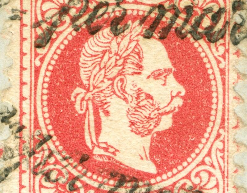 Freimarken-Ausgabe 1867 : Kopfbildnis Kaiser Franz Joseph I - Seite 8 1867_536