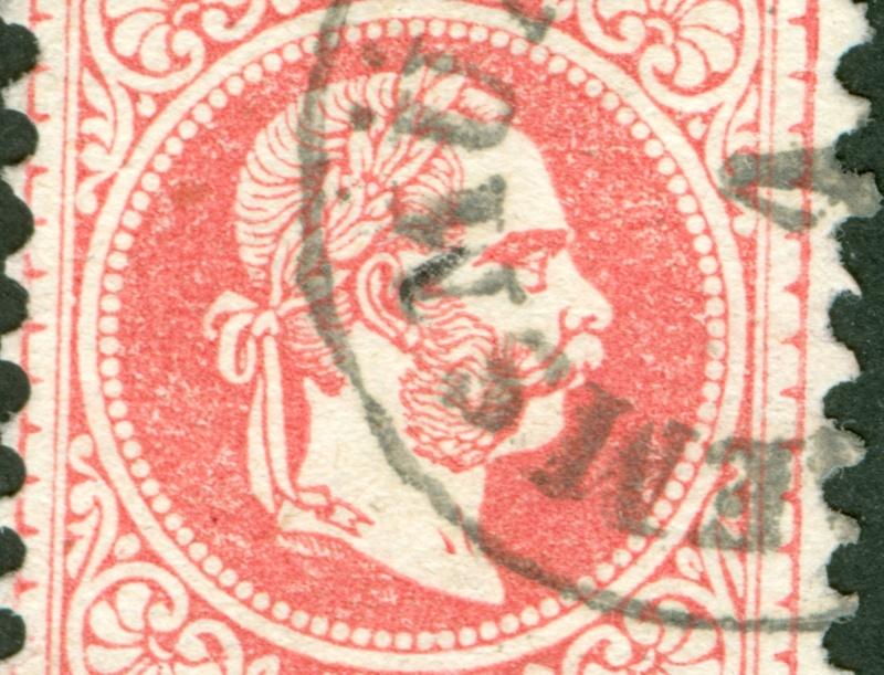 Freimarken-Ausgabe 1867 : Kopfbildnis Kaiser Franz Joseph I - Seite 8 1867_544
