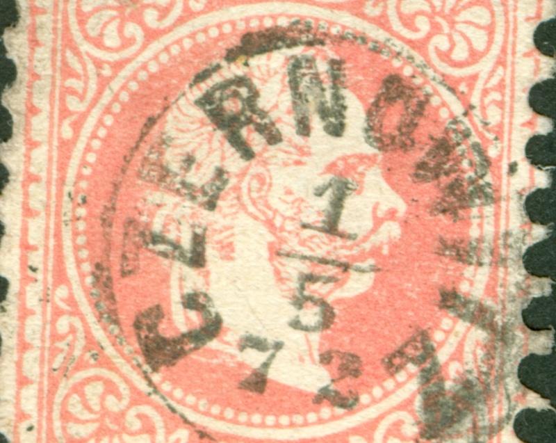 Freimarken-Ausgabe 1867 : Kopfbildnis Kaiser Franz Joseph I - Seite 8 1867_545