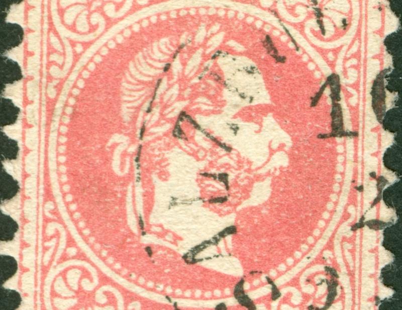 Freimarken-Ausgabe 1867 : Kopfbildnis Kaiser Franz Joseph I - Seite 8 1867_548