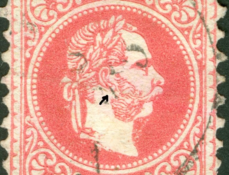 Freimarken-Ausgabe 1867 : Kopfbildnis Kaiser Franz Joseph I - Seite 8 1867_550