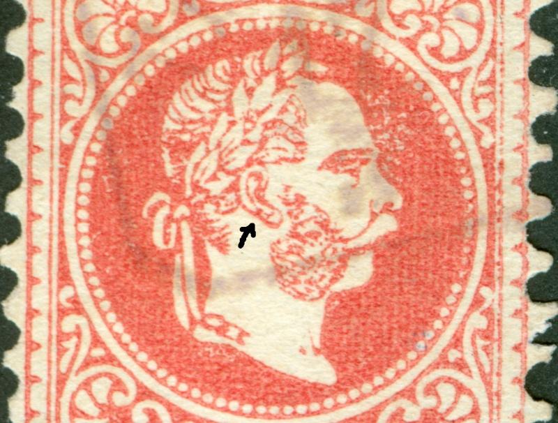 Freimarken-Ausgabe 1867 : Kopfbildnis Kaiser Franz Joseph I - Seite 8 1867_551