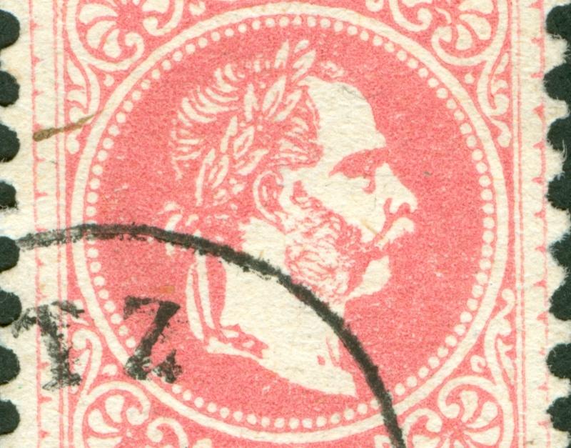 Freimarken-Ausgabe 1867 : Kopfbildnis Kaiser Franz Joseph I - Seite 8 1867_552