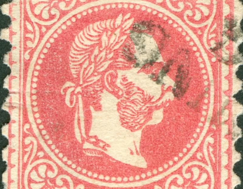 Freimarken-Ausgabe 1867 : Kopfbildnis Kaiser Franz Joseph I - Seite 8 1867_553
