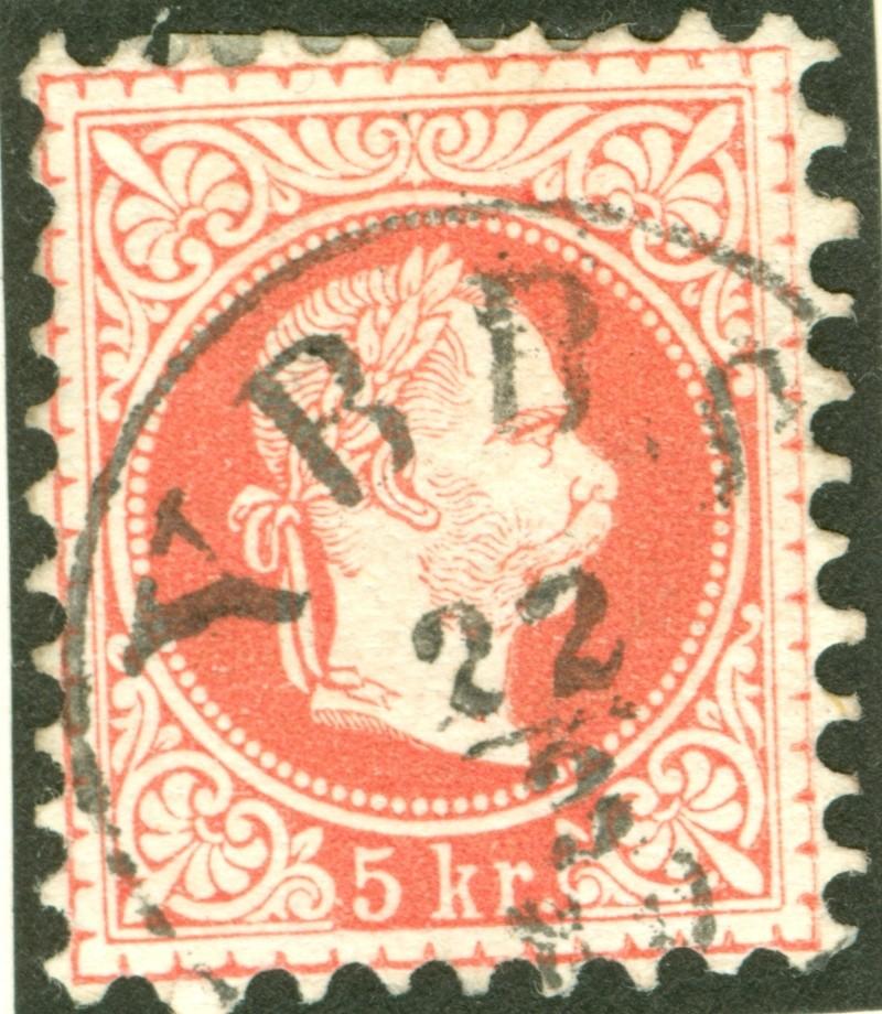 Freimarken-Ausgabe 1867 : Kopfbildnis Kaiser Franz Joseph I - Seite 7 1867_r10