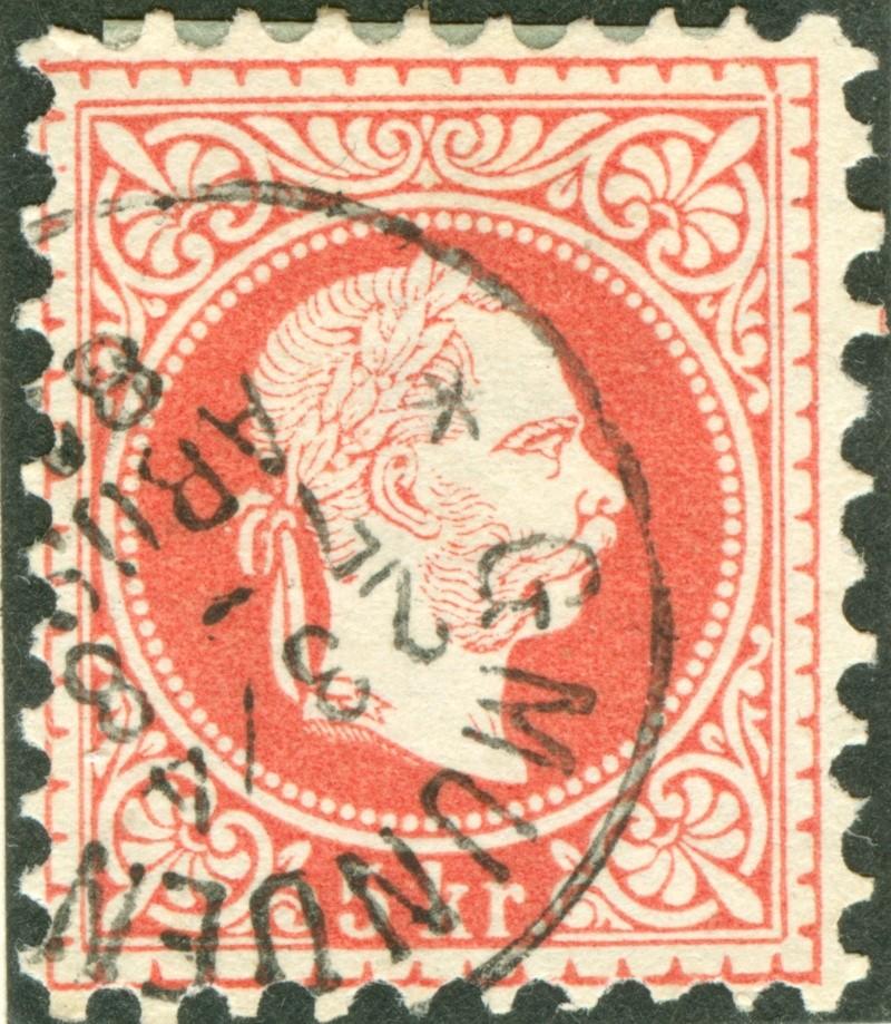 Freimarken-Ausgabe 1867 : Kopfbildnis Kaiser Franz Joseph I - Seite 7 1867_r12