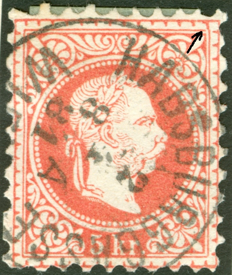 Freimarken-Ausgabe 1867 : Kopfbildnis Kaiser Franz Joseph I - Seite 7 1867_r14