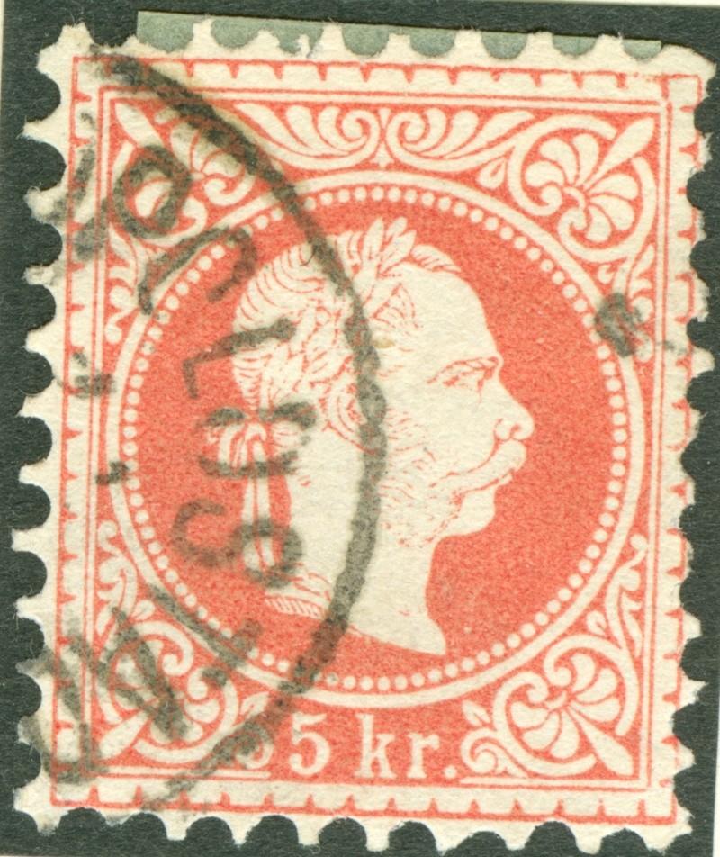 Freimarken-Ausgabe 1867 : Kopfbildnis Kaiser Franz Joseph I - Seite 7 1867_r16