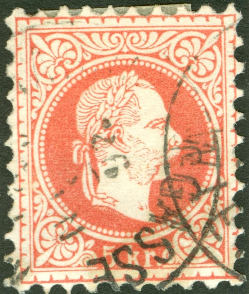 Freimarken-Ausgabe 1867 : Kopfbildnis Kaiser Franz Joseph I - Seite 7 1867_r18