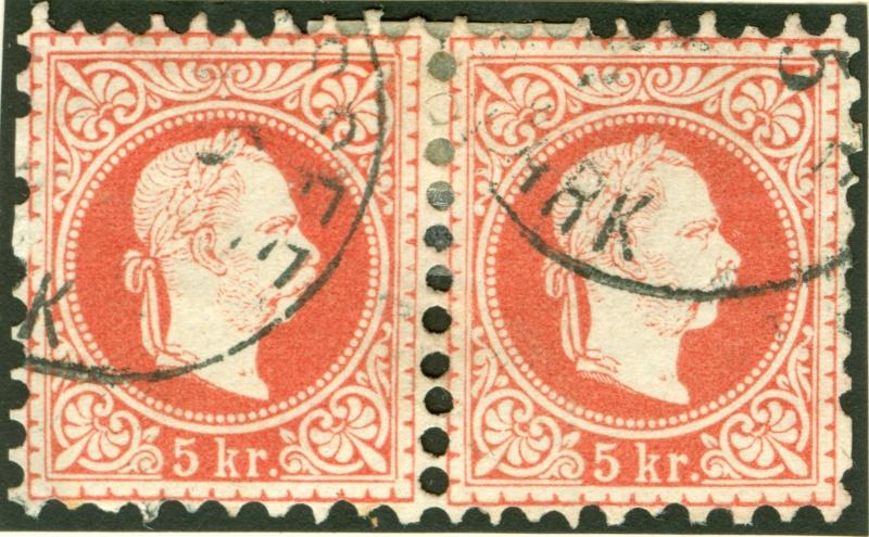 Freimarken-Ausgabe 1867 : Kopfbildnis Kaiser Franz Joseph I - Seite 7 1867_r22