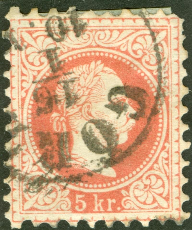 Freimarken-Ausgabe 1867 : Kopfbildnis Kaiser Franz Joseph I - Seite 7 1867_r24