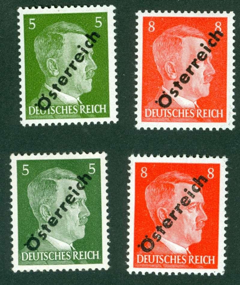 Briefmarken - I. Wiener Aushilfsausgabe, erste Ausgabe 1945_111
