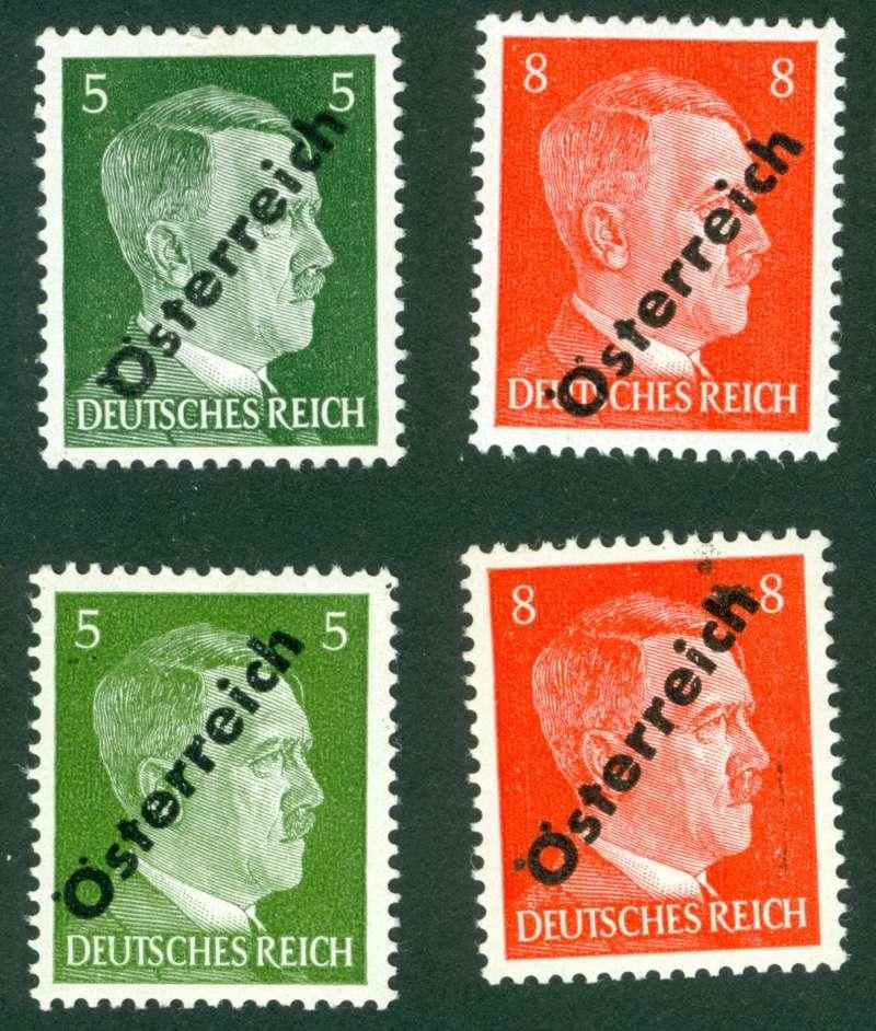 Briefmarken - I. Wiener Aushilfsausgabe, erste Ausgabe 1945_112