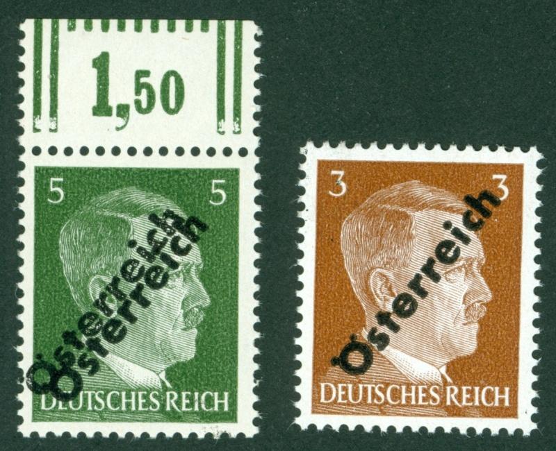 Briefmarken - I. Wiener Aushilfsausgabe, erste Ausgabe 1945_114