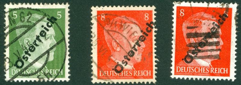 Briefmarken - I. Wiener Aushilfsausgabe, erste Ausgabe 1945_115