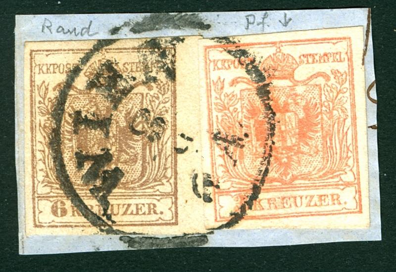Die erste Österreichische Ausgabe 1850 - Seite 4 36_kr_10