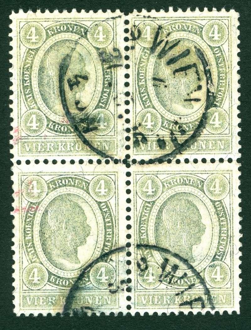 Freimarkenausgabe 1899 4_kron10