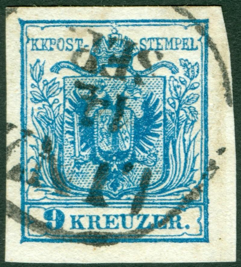 Die erste Österreichische Ausgabe 1850 - Seite 6 9_kr_t12