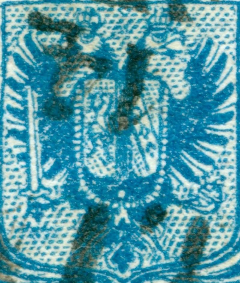 Die erste Österreichische Ausgabe 1850 - Seite 6 9_kr_t13