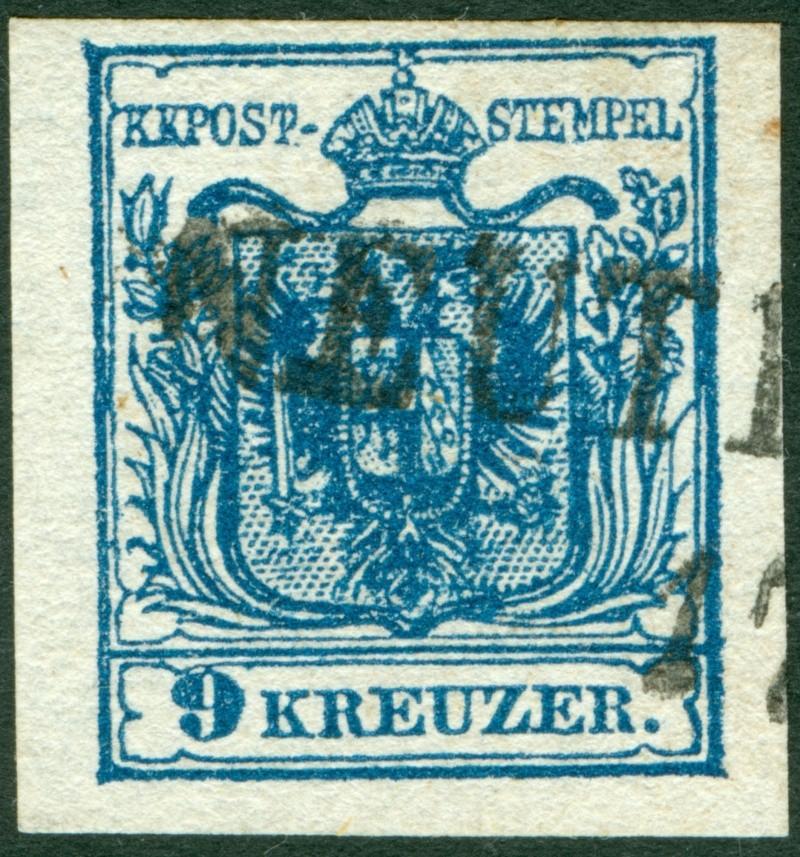 Die erste Österreichische Ausgabe 1850 - Seite 6 9_kr_t14