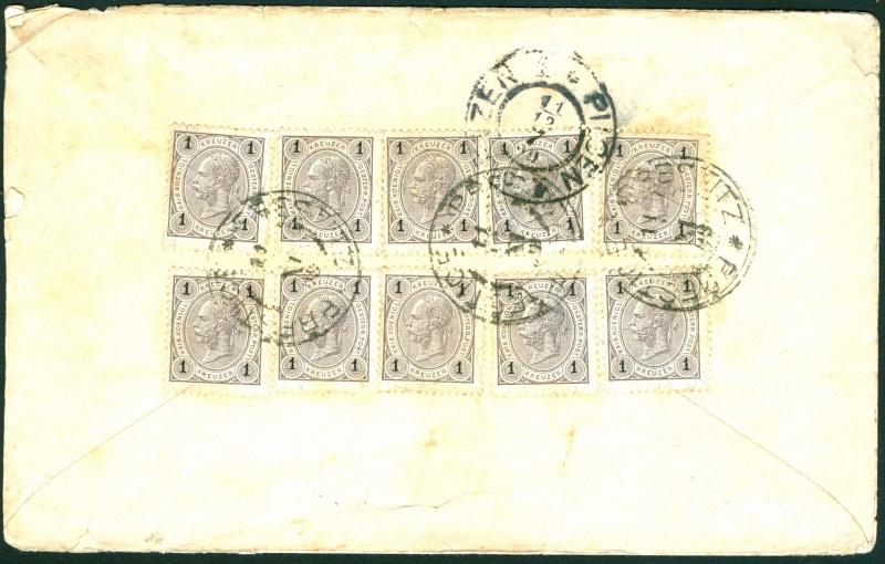 Die Freimarkenausgabe 1890 Brief_11