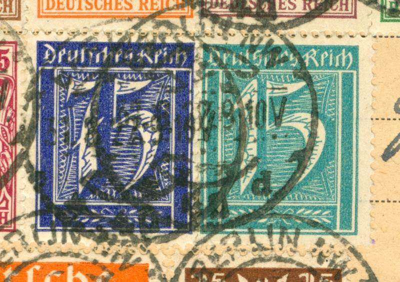 Deutsches Reich Okt. 1918 bis Nov. 1923 Infla-12