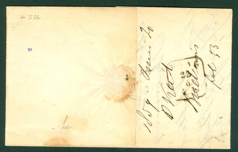 Die Freimarkenausgabe 1858 Type I und II - Seite 3 Ortsbr12