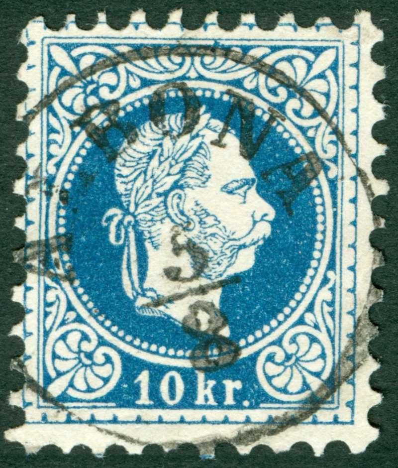 Freimarken-Ausgabe 1867 : Kopfbildnis Kaiser Franz Joseph I - Seite 8 Stempe10