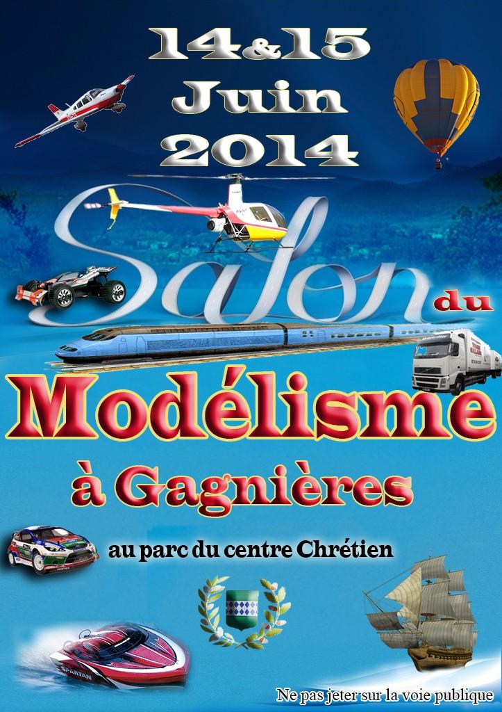 Salon du Modelisme à Gagnieres (Gard) 14/15 juin 2014 Gagnie10