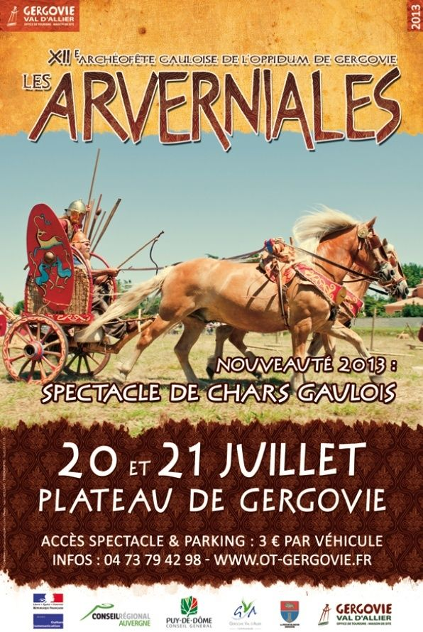 Les ARVERNIALES de Gergovie 2013 Projet12