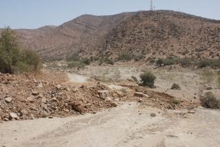 Accès camping de la vallée à Abaynou Dsc09611