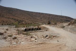 Accès camping de la vallée à Abaynou Dsc09612