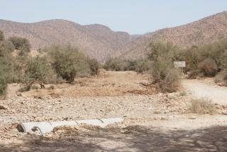 Accès camping de la vallée à Abaynou Dsc09613