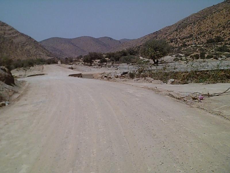 Accès camping de la vallée à Abaynou Sunp0012