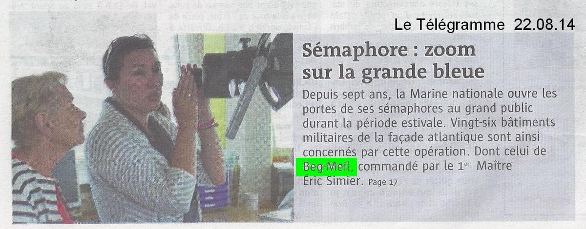 SÉMAPHORE - BEG MEIL (FINISTÈRE) - Page 5 Scan1424