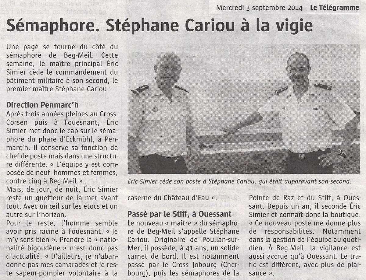 SÉMAPHORE - BEG MEIL (FINISTÈRE) - Page 5 Scan1427