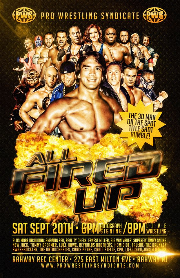 PWS All Fired Up du 20/09/2014 10577010