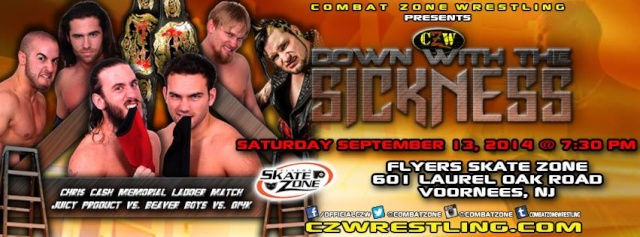 CZW Down with the Sickness/WSU Resurgence du 13/09/2014 10665010