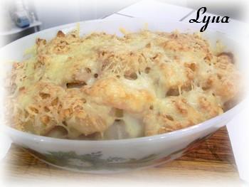Casserole de pommes de terre et poisson Casser12