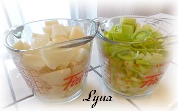Crème de poireaux et pommes de terre Crame_10